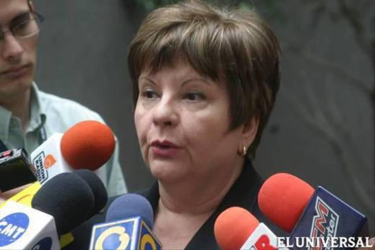 Cecilia Sosa, expresidenta de la extinta Corte Suprema de Justicia. foto edh / archivo