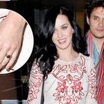 Anillo de Katy Perry despierta sospechas de compromiso