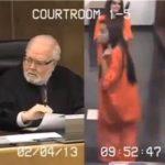 Vídeo: Se burla de juez y es sentenciada a pasar 30 días en la cárcel