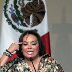 Elba Esther Gordillo, jefa del sindicato de maestros.