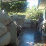 Ropa acumulada en el área de lavandería. FOTO EDH/ARCHIVO