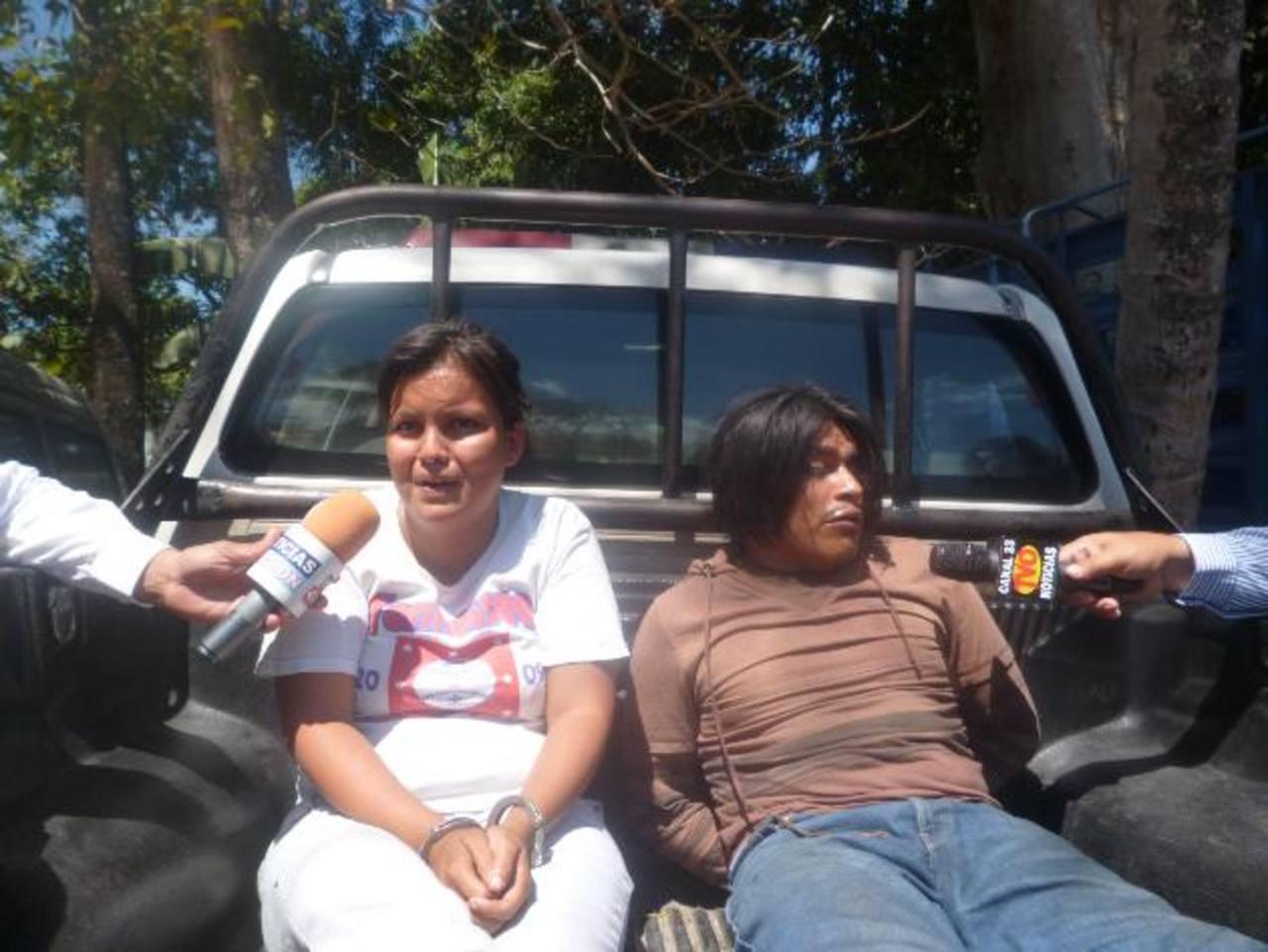 Carla Lissette G., de 18 años, y José Daniel P., de 24, habrían asfixiado con una sábana a su primogénito.