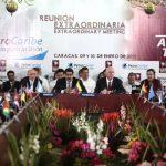 Los países de la Alba se reunieron el pasado 10 de enero de 2013 junto a países de Petrocaribe en Caracas. Foto EDH / archivo
