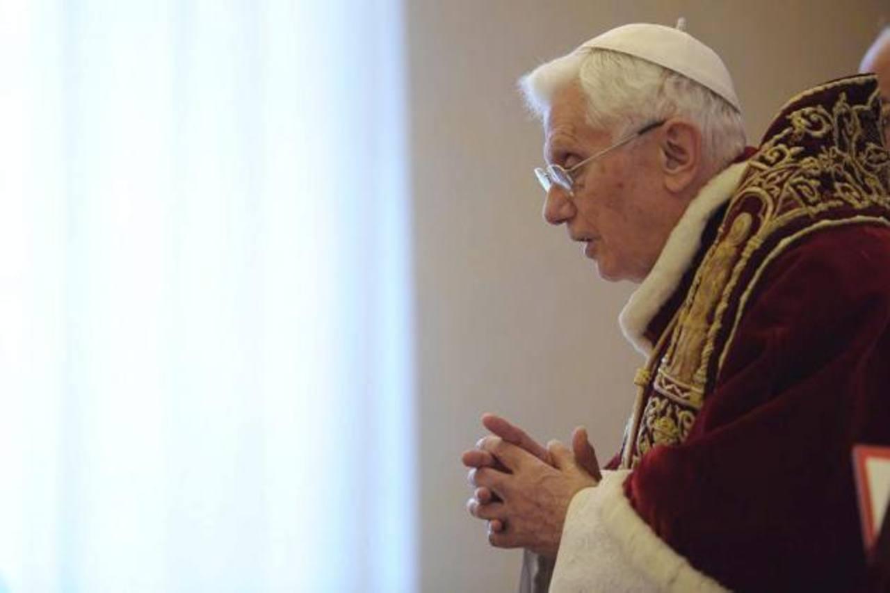 Fue electo Papa en 2005, al morir Juan Pablo II.