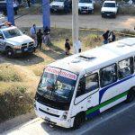 El pasajero asesinado dentro de esta unidad colectiva era un agricultor, de 64 años, según la Fiscalía. Foto EDH / Mario Amaya