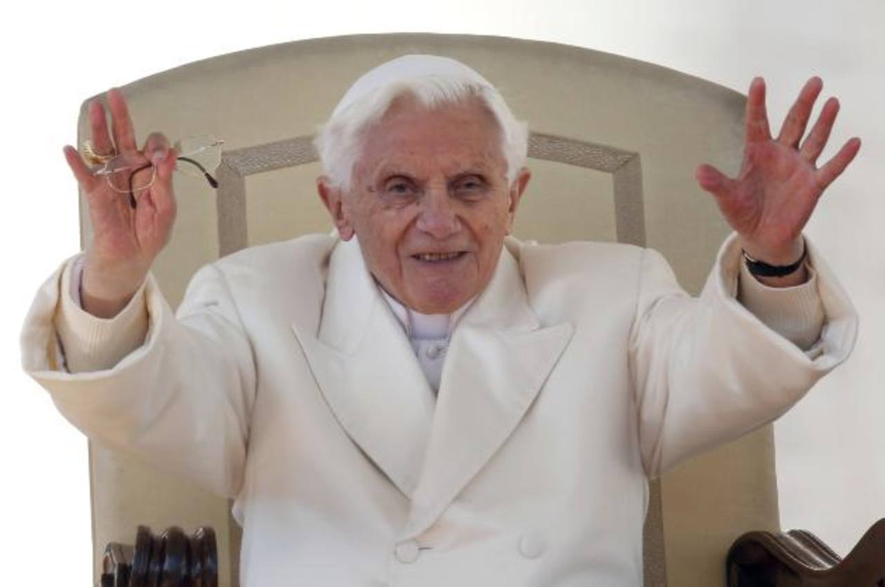 El papa tuvo este 27 de febrero una emotiva despedida Foto/ Reuters