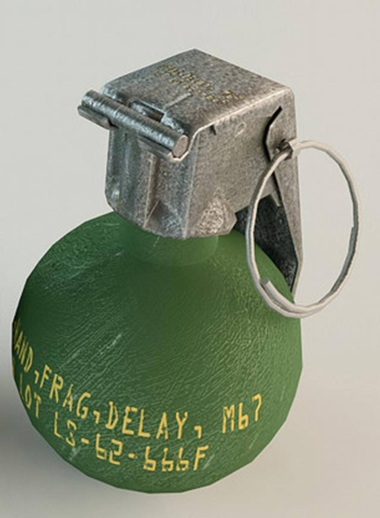 No han indagado de dónde salieron más de mil granadas y 15 cohetes LAW