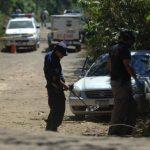 Asesinos de estadounidense habrían escapado en un vehículo, dijo PNC. Foto EDH / Miguel VillaltaVehículo en el que escapaban los supuestos ladrones.Edgardo Carrillo Arias, asesinado ayer en Ilopango.