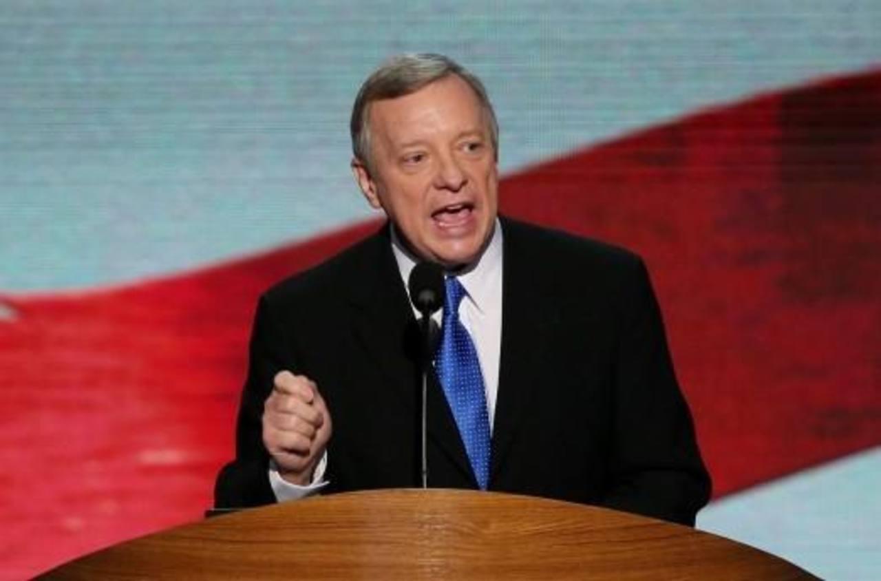 Senador demócrata Dick Urbin.
