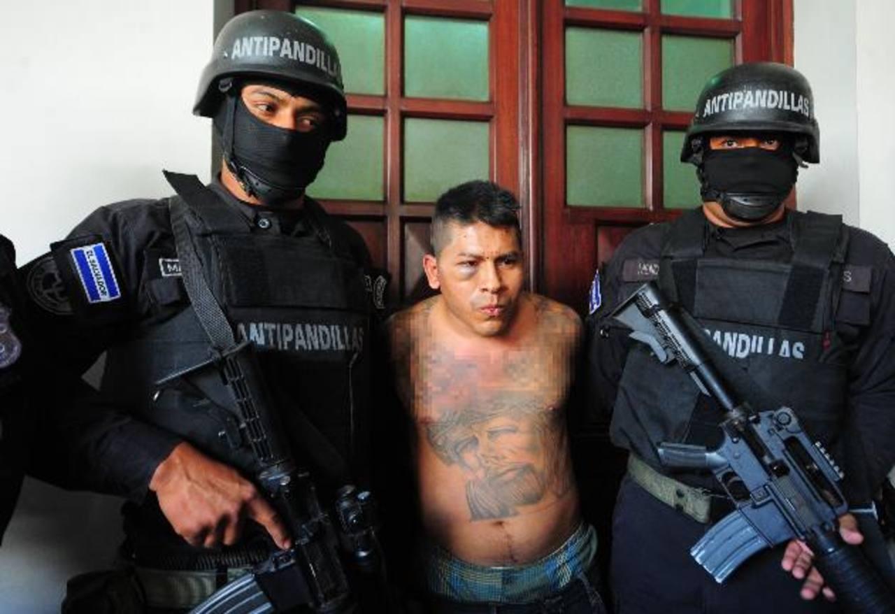 José Ortiz Jorge fue capturado en diciembre. Habría ordenado varios asesinatos como cabecilla de la estructura Taynis Locotes Revolucionarios, de la mara 18.