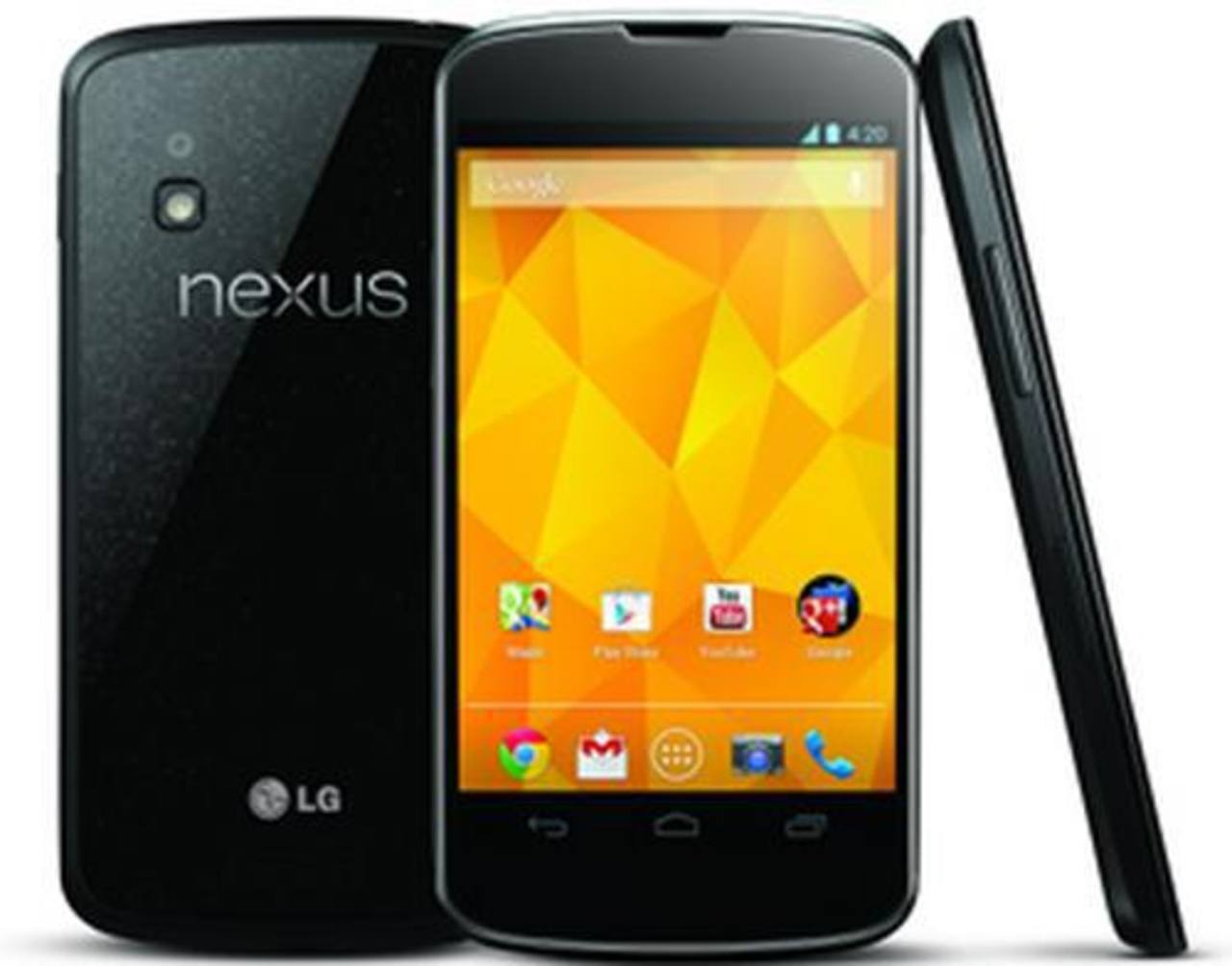 Nexus 4 con sistema operativo Jelly Bean