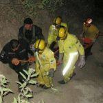 Policía y socorristas de Comandos de Salvamento recuperaron el cadáver del agente José Rivas del río Acelhuate. Foto cortesía de Comandos de Salvamento