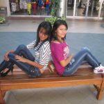 Iris Noemy Martínez (izquierda) y Verónica Platero tenían 15 días de vivir juntas cuando desaparecieron el 29 de octubre. Sus parientes recurrieron a las redes sociales para intentar hallarlas.