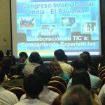 Académicos y estudiantes asistieron al congreso sobre las tecnologías de la información. foto EDH/ Douglas urquilla