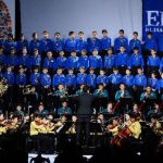 Los 200 niños que forman la orquesta sinfónica mostraron su talento con sus variadas interpretaciones. El público se emocionó con cada una de ellas. fotos edh/ mario amaya