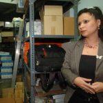 Iris Chavarría acusó a un exgerente por complicidad en un supuesto acoso sexual. Foto EDH
