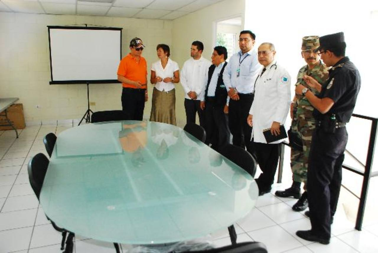 La nueva oficina municipal de prevención de la violencia fue inaugurada ayer por la mañana. foto edh / jenny ventura
