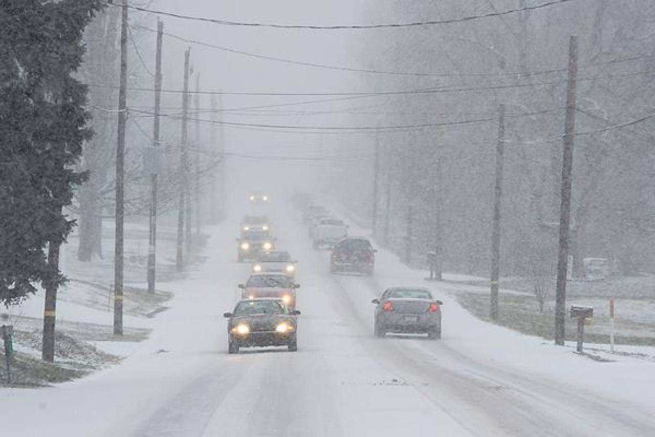 La mayor acumulación fue en el estado de Kansas, donde la nieve alcanzó las 14 pulgadas en Hutchinson, Macksville y Hanston. FOTO EDH