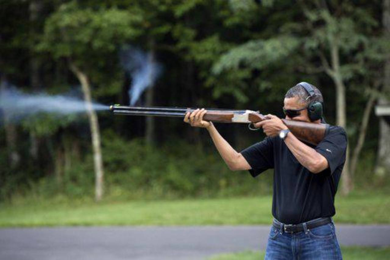La foto oficial de la Casa Blanca tiene fecha del 4 de agosto de 2012.