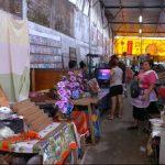 El local ya fue arreglado por la municipalidad, donde ubicó a 125 vendedores. Foto EDH / archivo