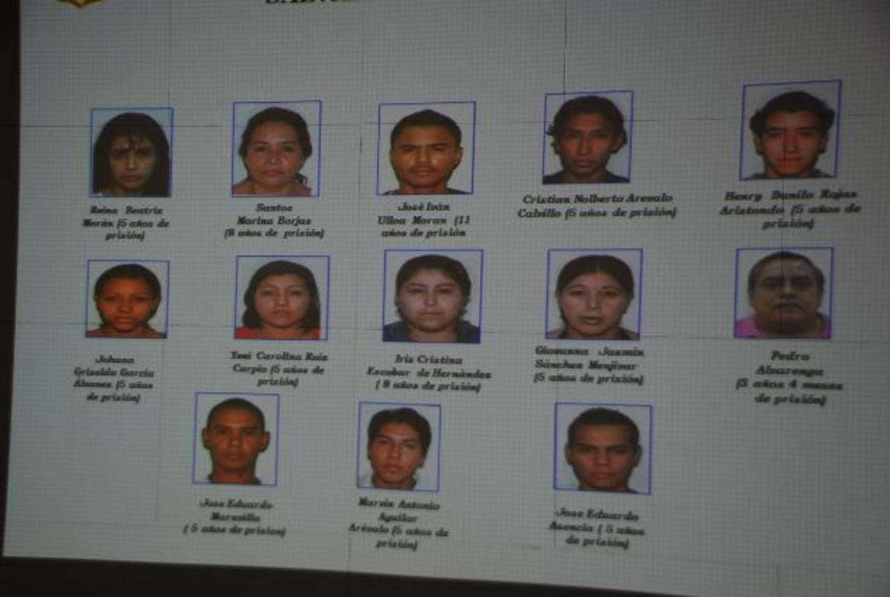 Los condenados pedían que les enviaran la extorsión mediante encomiendas a Guatemala. Foto EDH / Francisco Torres.