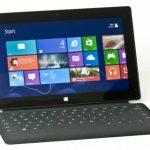 La Surface Pro está disponible en versiones de 64 y 128 gigabytes. foto EDH