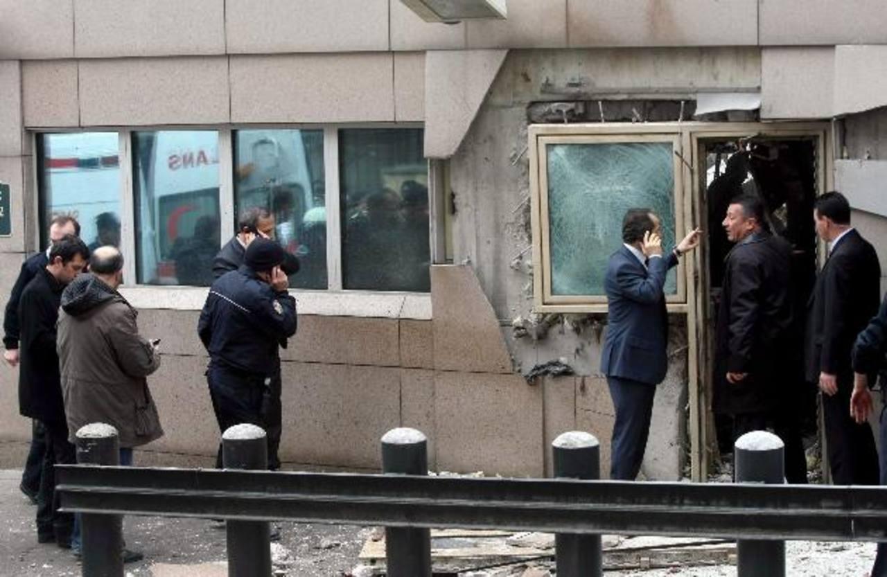 Alisan Sanli realizó el atentado suicida el 1 de febrero de 2013 en la embajada de EE.UU. en Turquía. foto edh / Agencias