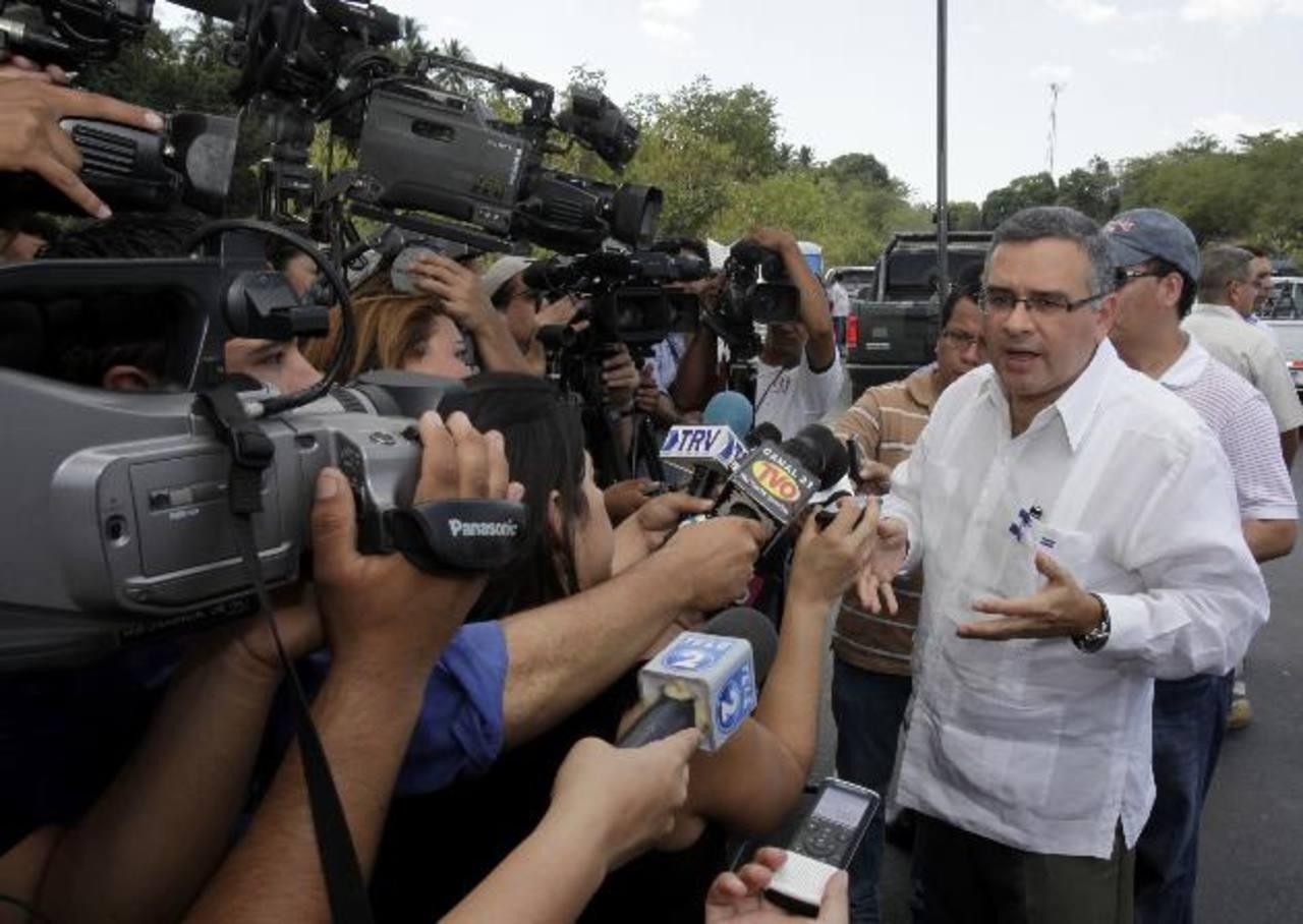 El presidente Mauricio Funes aseguró que Alba Petróleos es fiscalizado por el Ministerio de Hacienda. Foto EDH