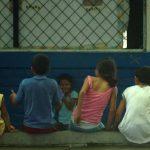 La PNC busca alejar a los alumnos de las drogas y de las pandillas. FOTO EDH Agencias.