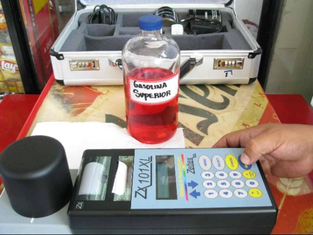 El plan de vigilancia de combustibles ha sido fortalecido con fondos de la UE. foto edh/archivo