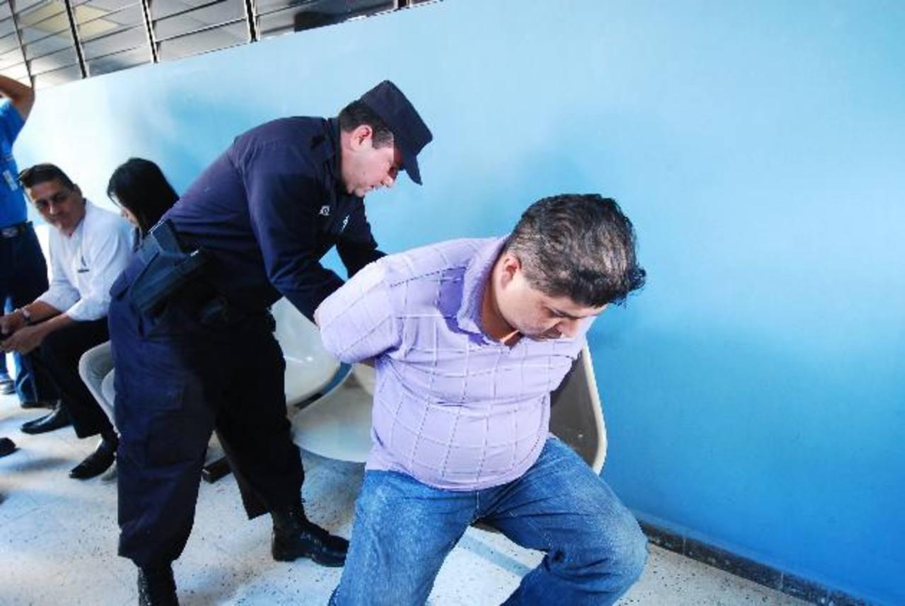 Ricardo Morales, acusado de haber atropellado a una señora de 58 años, en un hecho de intolerancia. Foto EDH / M. Hernández