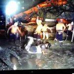 Mineros bailan the Harlem Shake y los despiden