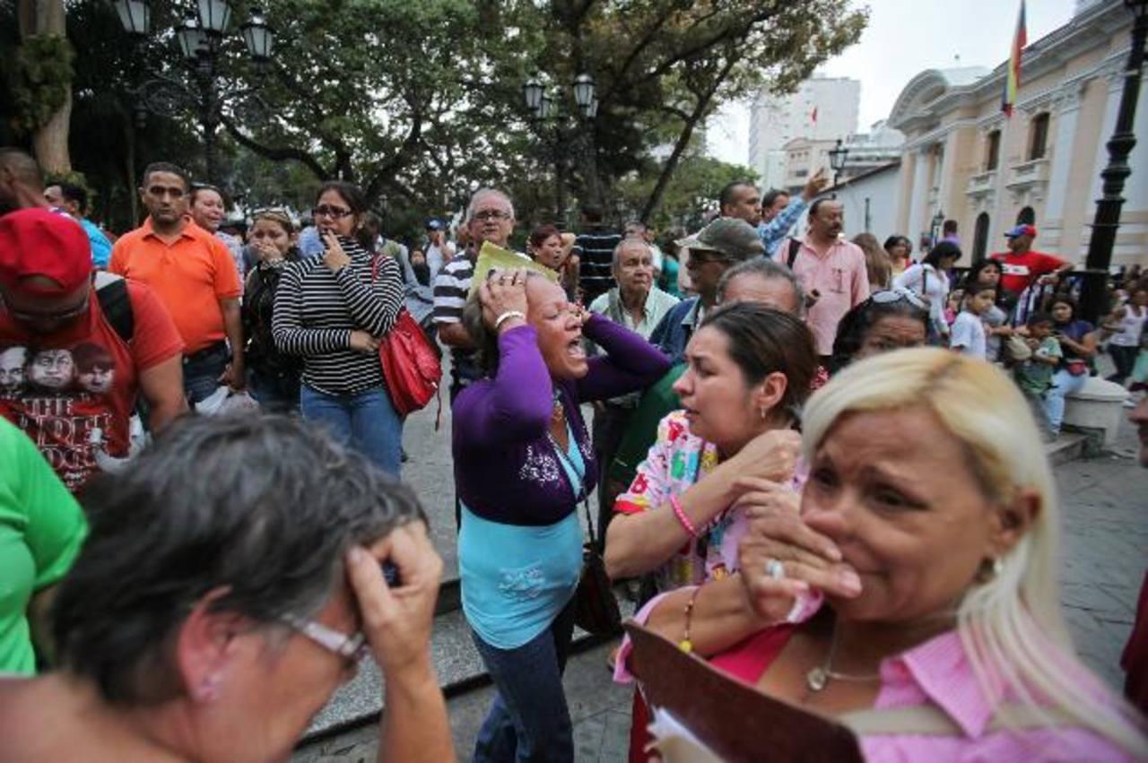 Los venezolanos al conocer la noticia