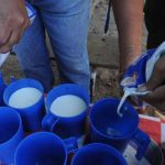 Según los maestros la leche ha tenido aceptación en los estudiantes; sin embargo, lo que reciben es insuficiente.