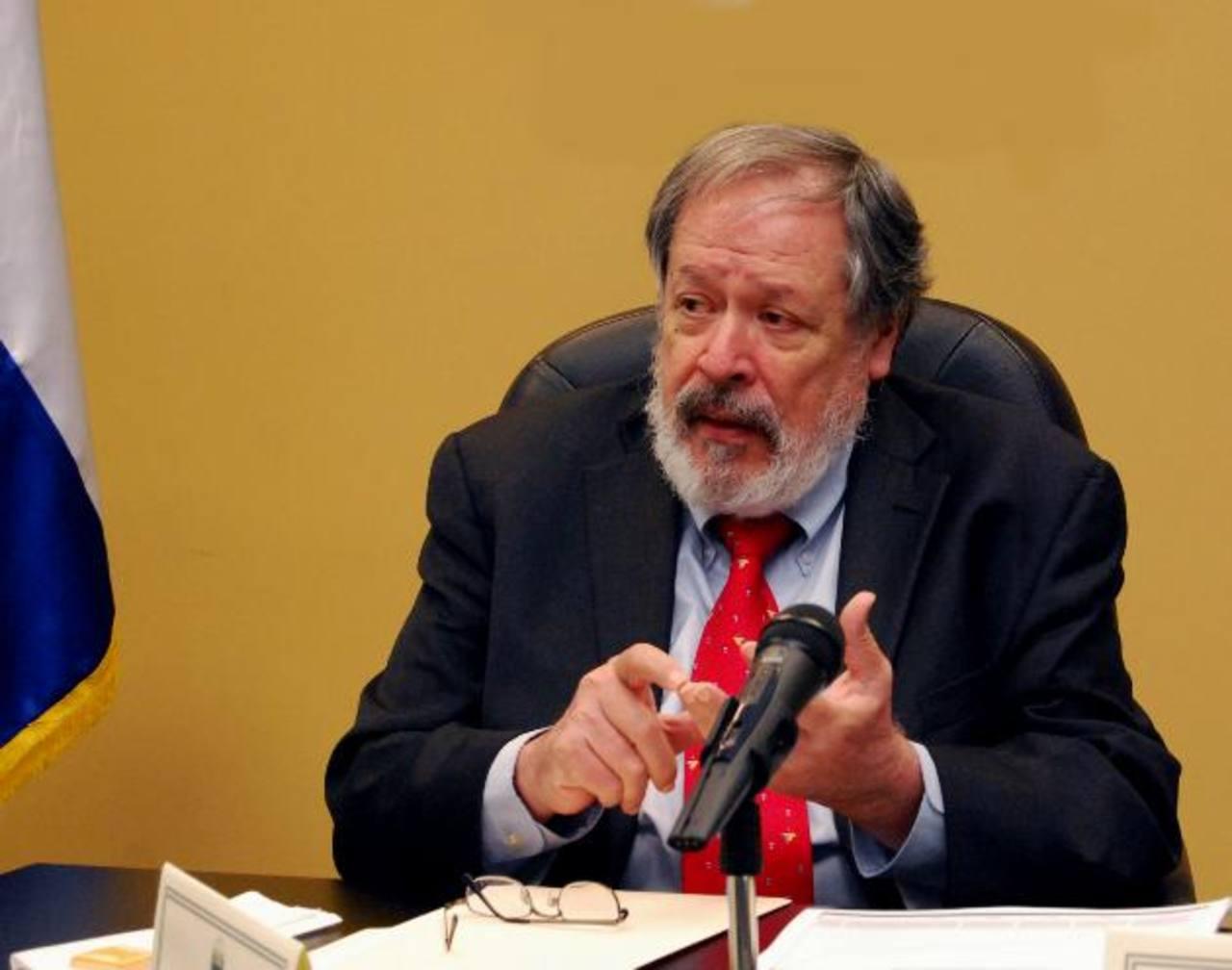 Francisco Altschul dejará el gobierno una vez entregue el cargo de embajador ante EE.UU. a Rubén Zamora.