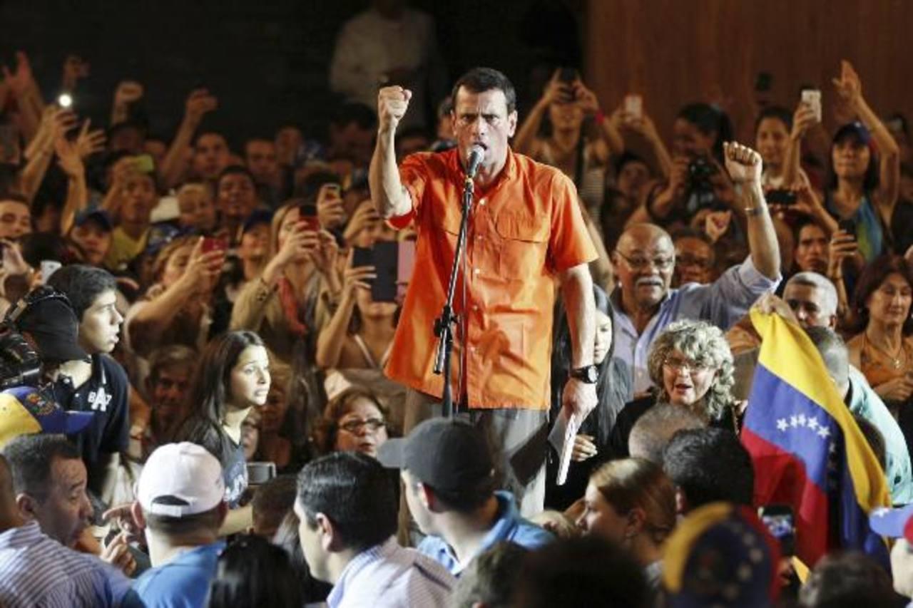 Capriles no dará petróleo a Cuba