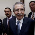El expresidente de Guatemala José Efraín Ríos Montt es procesado por genocidio y crímenes de guerra. foto edh /ap