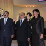 Javier Bernal, Marcos Gregorio Sánchez Trejo y Silvia Aguilar fueron juramentados la noche del miércoles como magistrados de la Corte de Cuentas de la República. Foto EDH / archivo