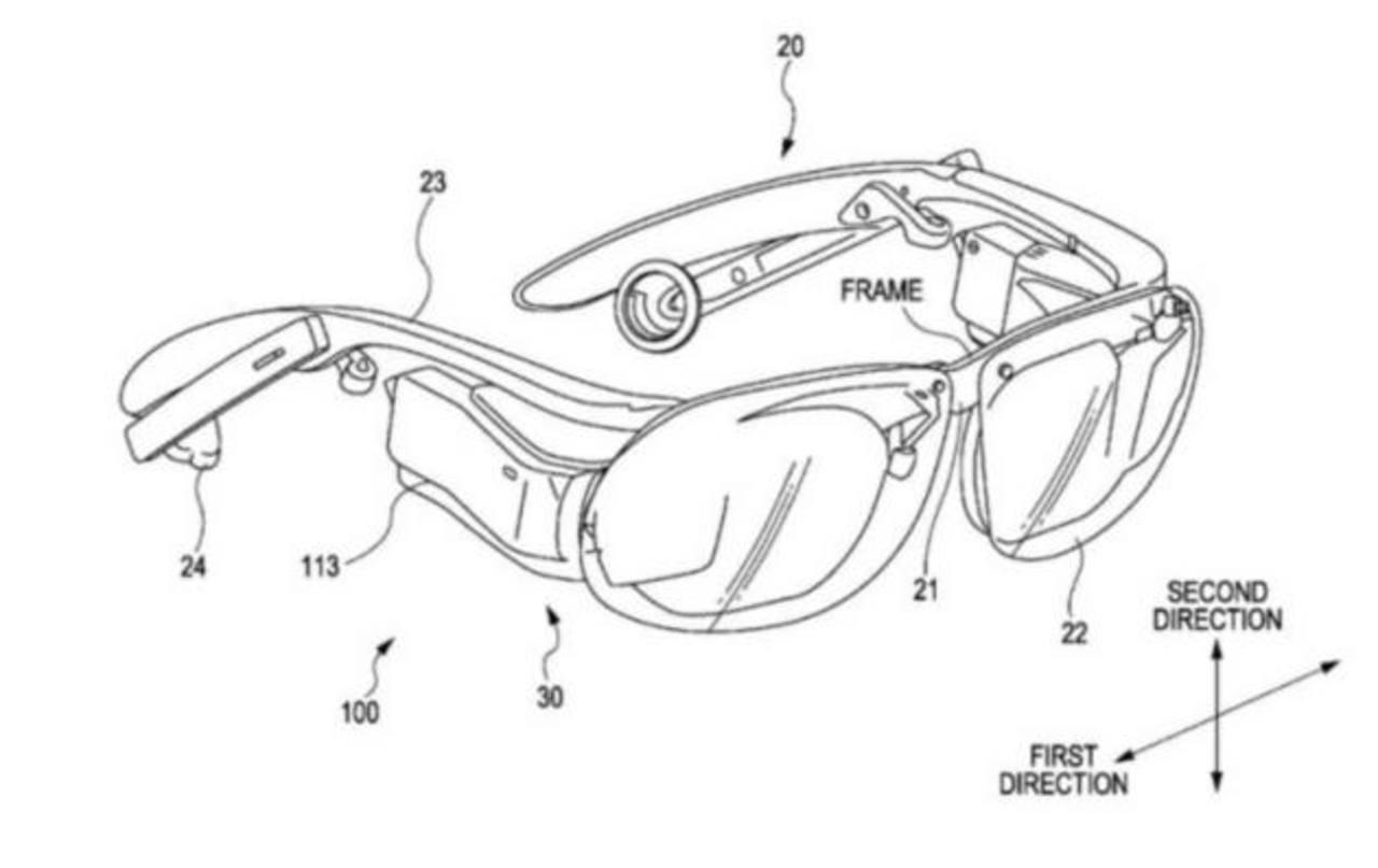Sony patentó un dispositivo para competir con Google Glass