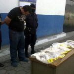 La droga fue localizada en varias bolsas de productos comestibles. Foto vía Twitter Lilibeth Sánchez