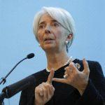La directora del Fondo Monetario Internacional (FMI) Christine Lagarde. Foto/ Archivo