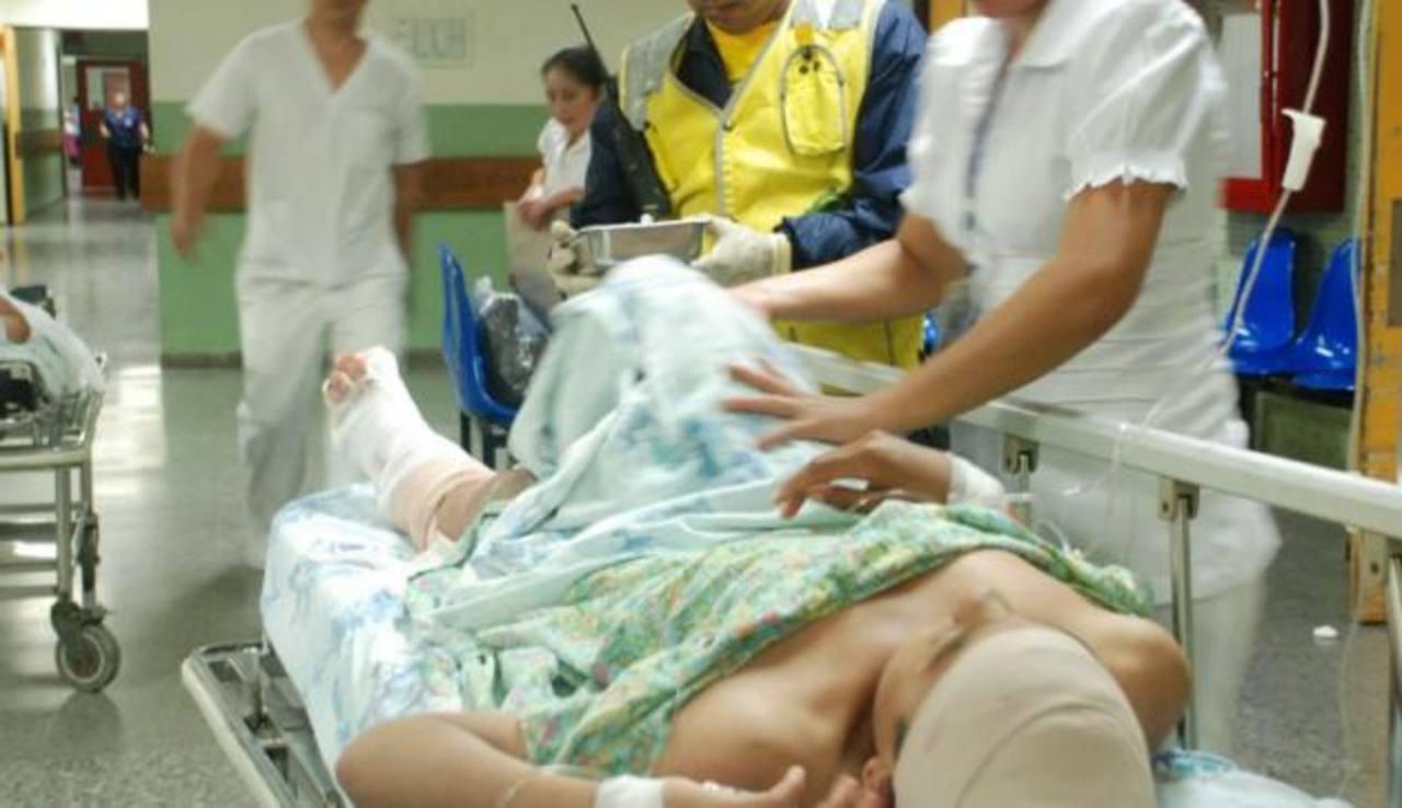 El número de lesionados también ha incrementado durante los primeros tres días de la vacación de Semana Santa. Foto/ Archivo