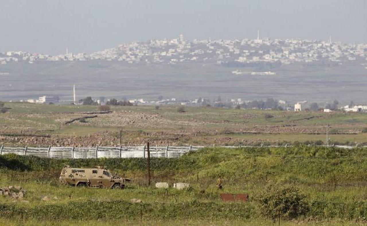 La Meseta del Golán, capturada por Israel a Siria en la Guerra de los Seis Días (1967). foto edh / reuters.