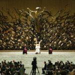 El Papa Francisco se reunió hoy con periodistas. FOTO EDHaGENCIASD.