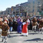 Salvadoreños participan del Vía Crucis en Nueva York