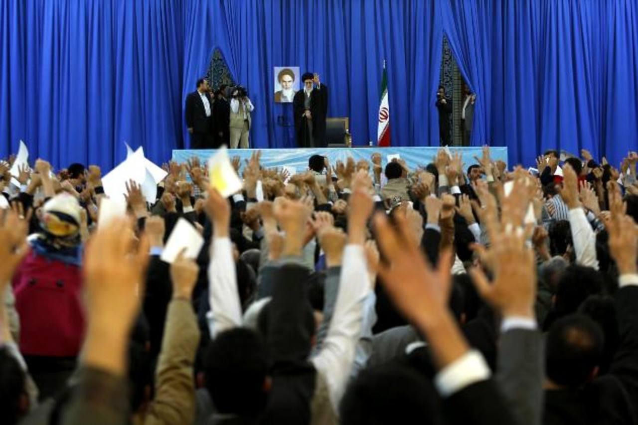 El líder supremo iraní. FOTO AP