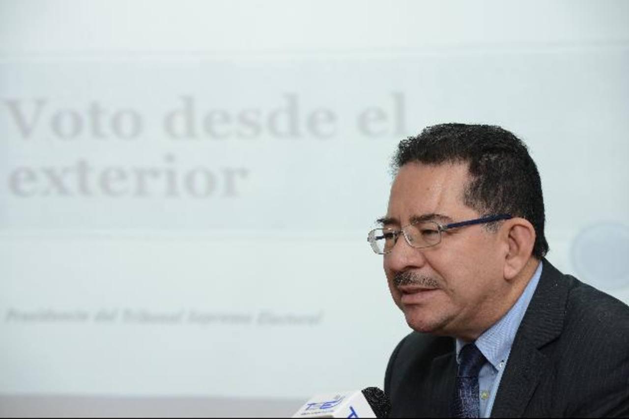 Los salvadoreños podrán votar en el extranjero. FOTO EDH Archivo.