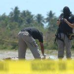 Dos hermanos fueron asesinados a tiros en San Pedro Masahuat, en el departamento de La Paz. Foto EDH / Miguel Villalta