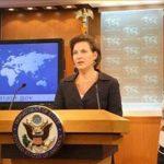 La portavoz del Departamento de Estado, Victoria Nuland