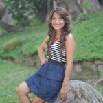 Sara Frida ahora será productora del programa que la dio a conocer en Ágape TV, canal 8. Foto Edh/DOUGLAS URQUILLA